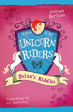 Book Cover for the Unicorn Riders Series