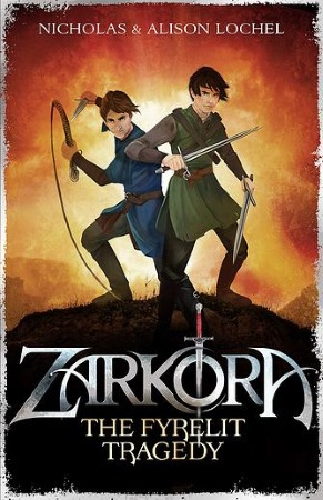 Book Cover for the Zarkora Series